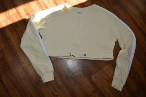 Beyond Limits Cropped Crewneck Sweater creme/weiss 38 Top