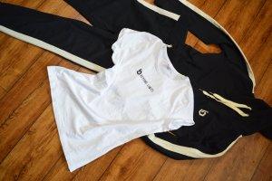 Beyond Limits weisses Basic Sport T-Shirt 38