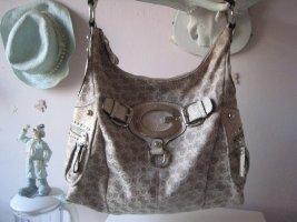 Bezaubernde Luxus Shopper Platin & Silber Elegant & Edel hoher NP Top