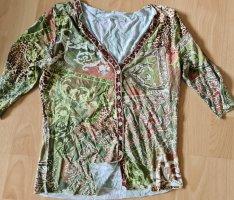 Biba Cardigan Jäckchen shirt boho Bohemian Hippie herbst autumn tribal ethno longsleve
