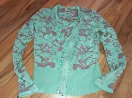 Biba Klasse Cardigan wie Neu S 36 Wundervolle Farbe Mint Grün Blau Türkis