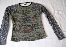 Vero Moda Shirt met print veelkleurig Katoen