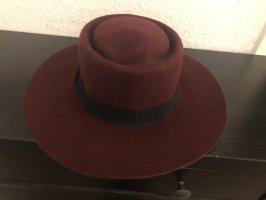 Bijou Brigitte Wełniany kapelusz bordo