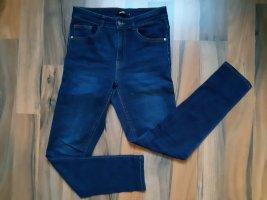 Bik Bok Hoge taille jeans donkerblauw