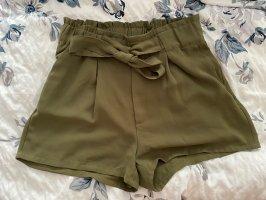 Bik Bok Short khaki-olijfgroen
