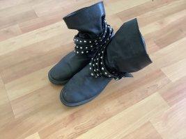 Zara Trafaluc Botas de tobillo negro