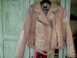 Amy Vermont Biker Jacket apricot imitation leather