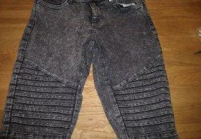 Janina Biker Jeans grey-black