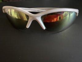 Biker Sonnenbrille von Limar, Gestell weiß