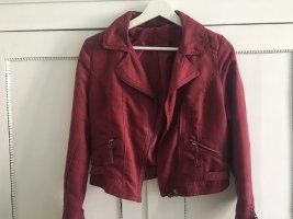 H&M Biker Jacket purple imitation leather