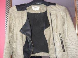Zara Trafaluc Biker Jacket khaki