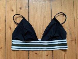 Bikini Oberteil schwarz sportlich