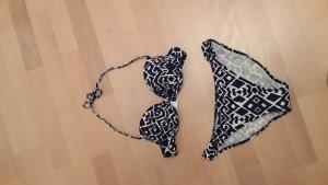 Bikini von S. Oliver ! Gr. 38 B, dunkelblau/wollweiss