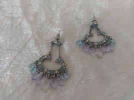 Bungeloorbellen paars-azuur