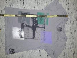 billabong grau XS 34 damen Shirt neuwertig klassische Motiv