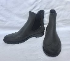 Billi Bi Slip-on Booties anthracite synthetic material