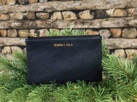 Bimba & Lola Wallet dark blue leather