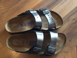 Birkenstock Comfort Sandals silver-colored