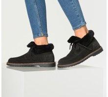 Birkenstock Halfhoge laarzen zwart