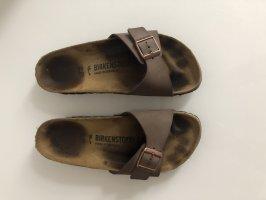 Birkenstock Sandalo comodo talpa-marrone scuro