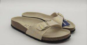 Birkenstock Sandalo con cinturino oro