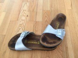 Birkenstock Sandales confort argenté
