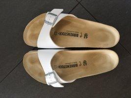 Birkenstock Sandales confort blanc