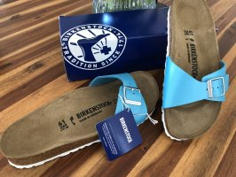 Birkenstock Sabot azzurro