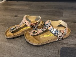 Birkenstock T-Strap Sandals multicolored