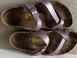 Birkenstock Sandalias con talón descubierto color rosa dorado