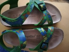 Birkenstock Strapped Sandals blue-green