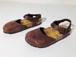 Birkenstock Sandalias cómodas marrón-marrón claro