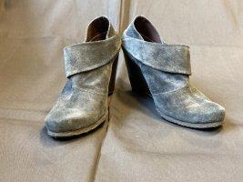 Biviel Wedge Pumps slate-gray leather