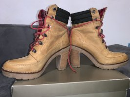 Björn Borg Lace-up Boots camel-beige
