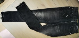 Black Denim Saint Laurent, used look