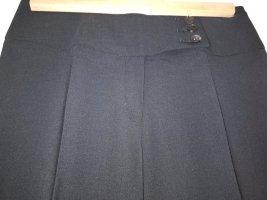 Blacky Dress Pantalone a pieghe nero Tessuto misto
