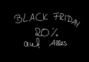 Black Friday Sale 20%