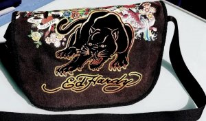 Ed Hardy College Bag dark grey