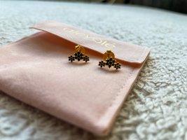 BLACK ROSELIN GOLD Ohrringe ungetragen