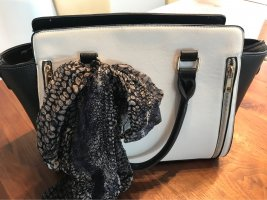 0039 Italy Handbag black-white