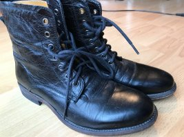 Blackstone Low boot noir cuir