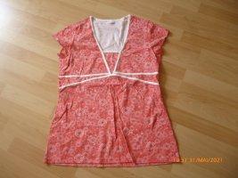 Blancheporte Shirt Tunic red-white cotton