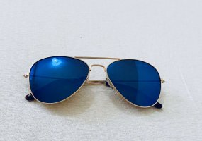 Blau Sonnenbrillen
