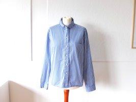 blau weiß gestreifte Cos Bluse Gr. 40 M