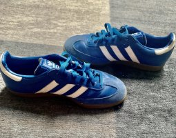 Adidas Originals Sneakers met veters neon blauw Leer