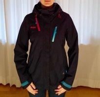 Blaue Bergans-/Ski-/Winterjacke Gr.M