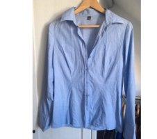 Blaue Bluse / Hemd Gr.40 Pimkie