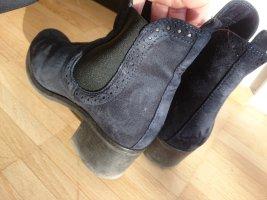 Blaue Boots Gr. 38