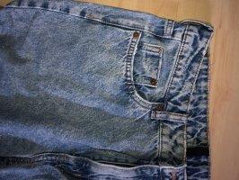 H&M Boyfriend jeans staalblauw-donkerblauw