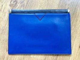 Blaue Clutch von Zara